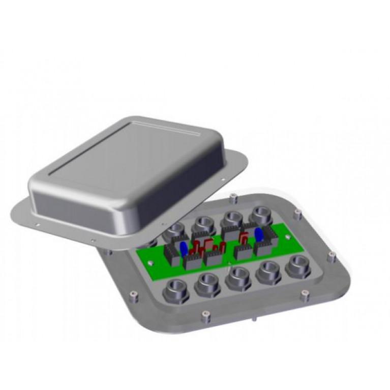 Цифровая соединительная коробка для тензодатчиков Precia Molen DJB-4