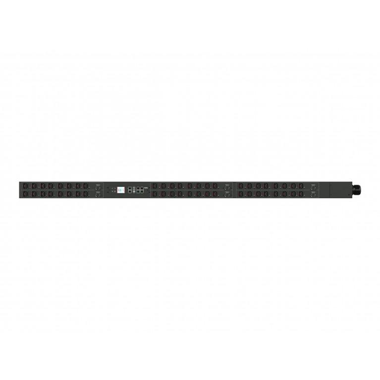 Блок розеток DELTA Meter PDU, Full rack,380/220 Vac, 16A,3P-5W, (36)C13,(3)C19, мониторинг с карты 3915100766-S00