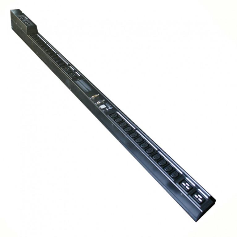 Блок розеток DELTA Meter PDU, Half rack,200/240 Vac, 16A,(24)C13,(3)C19, мониторинг с карты 3915100766-S00