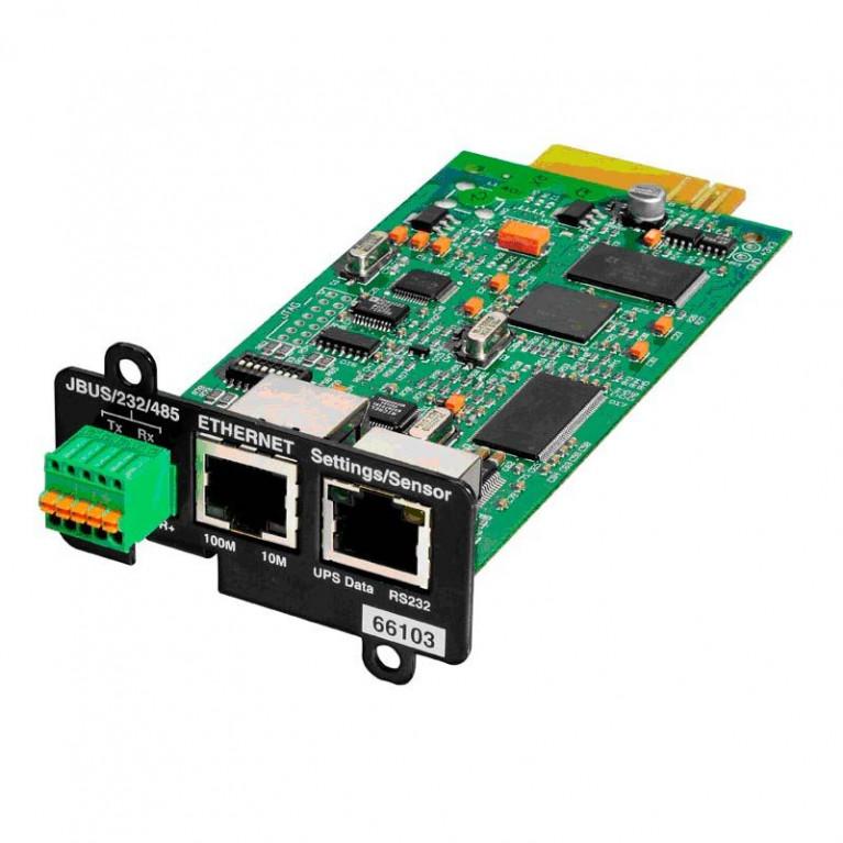 ModBus карта для ИБП Network and MODBUS Card-MS