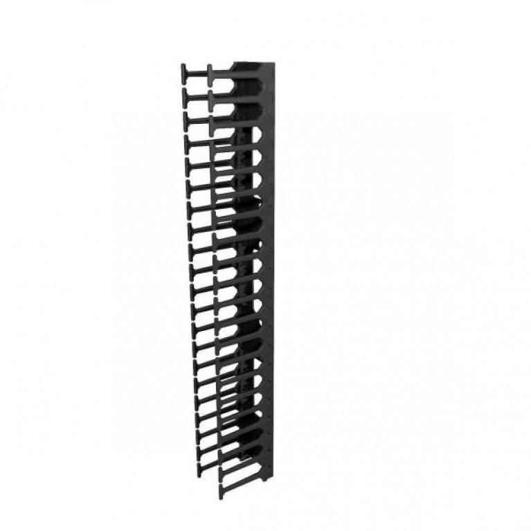 Аксессуар для стойки RA High-Density Vertical Cable Manager Kit 42U x 800W - BLK