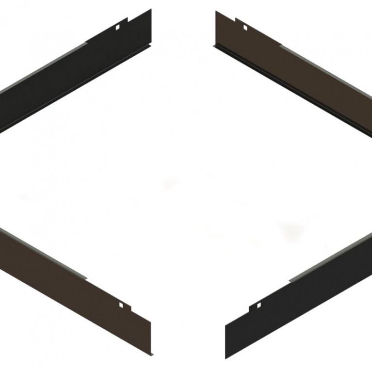 Аксессуар для стойки RA Plinth Panel Kit 600W 600D - BLK