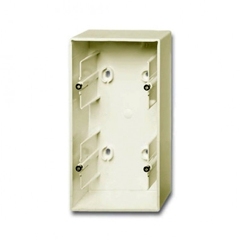 1799-0-0972 Basic55 Коробка 2-ная для накладного монтажа, сл. кость