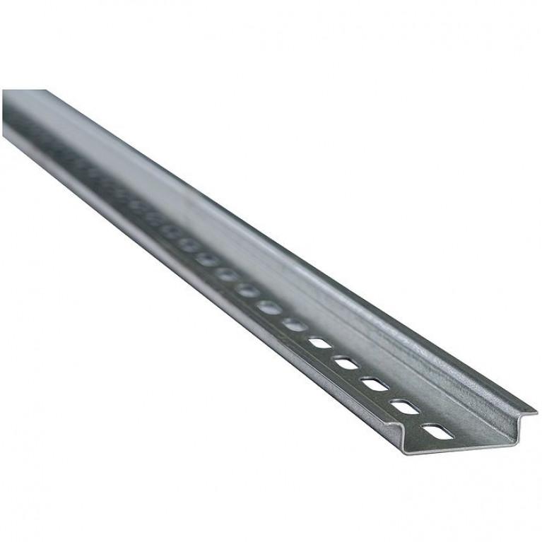 DIN-рейка оцинкованная-(100 мм)х1,0мм-КЭАЗ