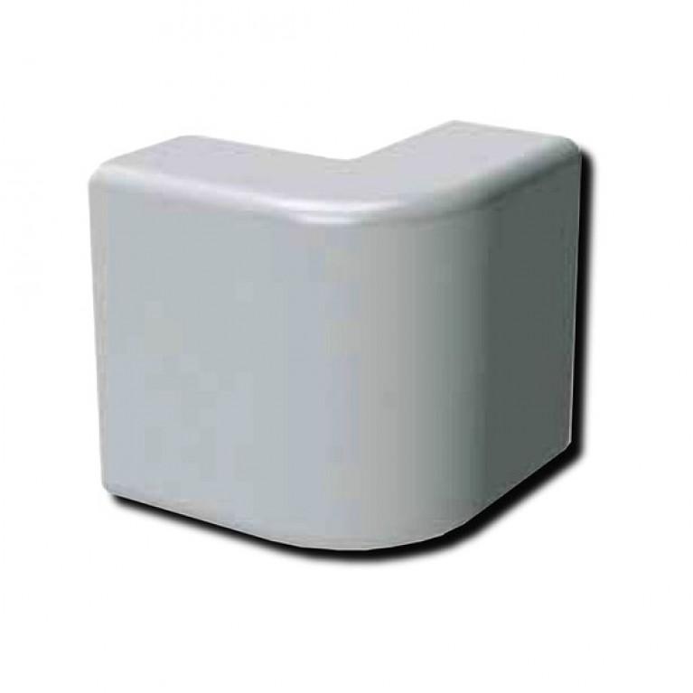 AEM 25x17 Угол внешний белый (розница 4 шт в пакете, 20 пакетов в коробке) (упак. 40шт)
