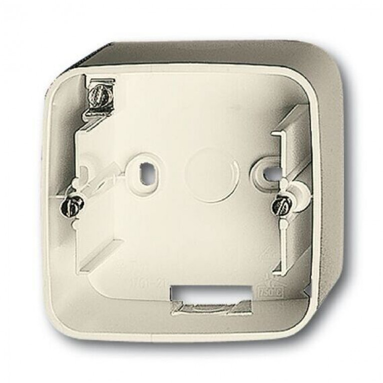 1799-0-0287 Коробка для открытого монтажа 1 пост Duro 2000 SI белый