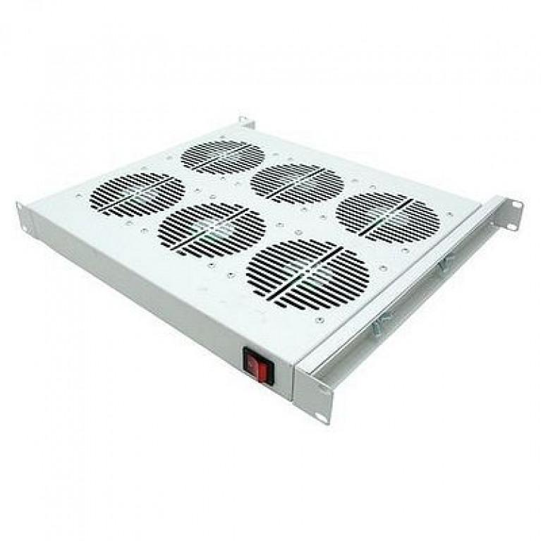 19 Вентиляторный модуль, 4 вент. с термостатом (упак. 1шт)