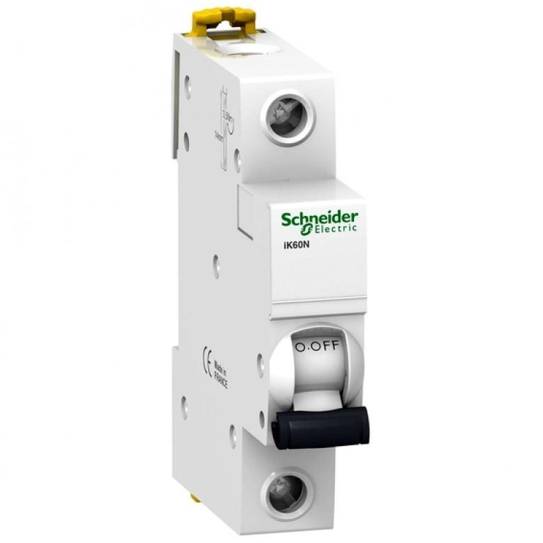Автоматический выключатель Schneider Electric Acti9 1P 10А (C) 6кА, A9K24110