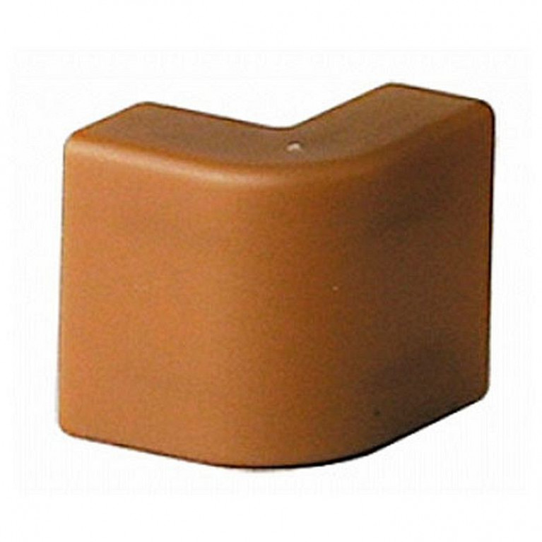 AEM 25x17 Угол внешний коричневый (розница 4 шт в пакете, 20 пакетов в коробке) (упак. 40шт)