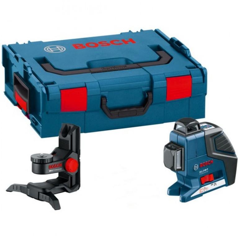 Лазерный Нивелир Bosch Gll 3-80 P + Bm1 (Новый) В L-Boxx