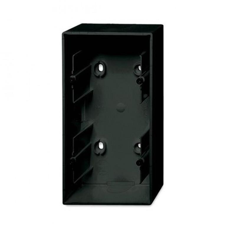 1799-0-0966 Basic55 Коробка 2-ная для накладного монтажа, château-black